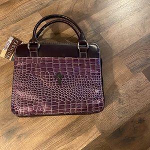 Fashion Purple Bible Case NWT
